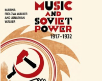 Book Launch «Music and Soviet Power 1917-1932»